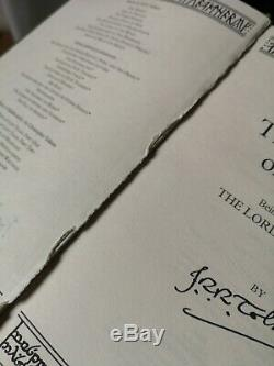 The Lord Of The Rings & The Hobbit Collector's Edition Books Harper Collins 2013