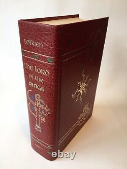 The Lord Of The Rings Tolkien HMCO 1974 Collectors Edition First Printing