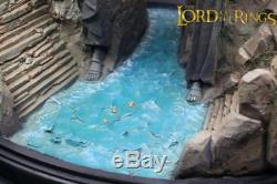 The Lord of The Rings Hobbit Gates of Argonath Gate of Kings Statue With BOX