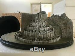 The Lord of The Rings LOTR Minas Tirith Full View Environments Resin Statue Cool