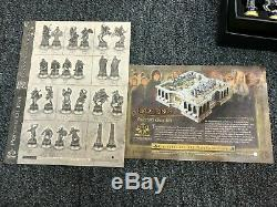 The Lord of The Rings Noble Collection Chess Set