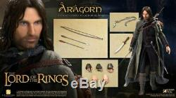 The Lord of the Rings Aragorn Deluxe 12 16 Scale Action Figure-SATSA8008A