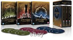 The Lord of the Rings Motion Picture Trilogy Steel book 4K Ultra HD New