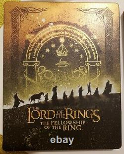 The Lord of the Rings Motion Picture Trilogy Steelbook 4K UHD+ Blu-Ray+ Digital