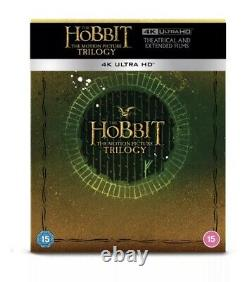 The Lord of the Rings Trilogy + Hobbit Trilogy 4K UHD Steelbook Sets Pre-Order