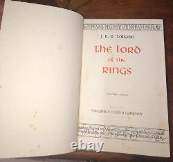 The Lord of the Rings by J. R. R. Tolkien (1974, Collector's Edition, Hardcover)