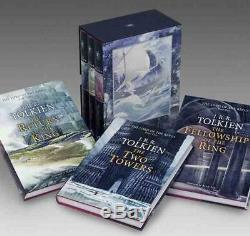 The Lord of the Rings by J. R. R. Tolkien (English) Boxed Set Book Free Shipping