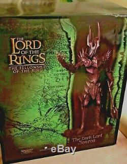 The Lord of the rings, SAURON the dark Lord -SIDESHOW WETA NEU! Nr. 4272/9500