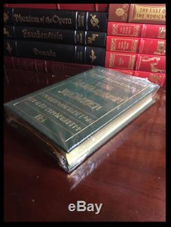 The Silmarillion by JRR Tolkien Sealed Easton Press Leather Lord Of Rings Gift