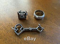 Thorin Oakenshield Lord of the Rings Hobbit Lot of Rings and Key Combo LOTR