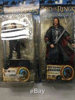 Toy Biz 2004 Lord of the Rings The Return Of The King Lot Of 13 Figures LOTR