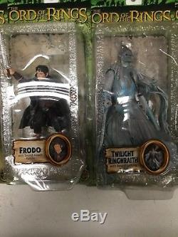 Toy Biz LOTR Fellowship of The Ring Lot Of 14 Figures Lord Of The Rings