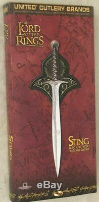 UC1264 United Cutlery Sting, Sword of Frodo & Bilbo Baggins Lord of the Rings