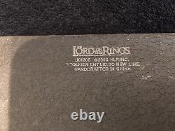 UC1309 United Cutlery URAK-HAI SCIMITAR Lord Of The Rings with Plaque