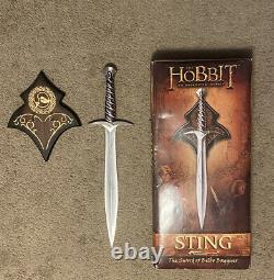 UC2892 Sting Sword of Bilbo Baggins HOBBIT United Cutlery Lord Of The Rings