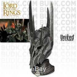 UNITED CUTLERY Lord Of The Rings Helm Of Sauron 11 Scale Prop Replica NEW
