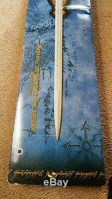 United Cutlery Anduril Limited Ed. Official Lord of the Rings Replica UC1380ASLB