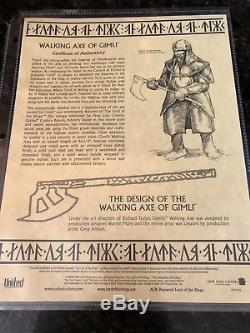 United Cutlery LOTR Walking Axe of Gimli UC1415 Lord of the Rings