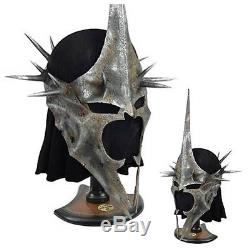 United Cutlery Lord Of The Rings Life Size War Helm Of The Witch King Helmet #24