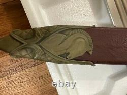 United Cutlery Lord of the Rings Herugrim Sword with Custom Commission Scabbard