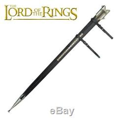 United Cutlery Lord of the Rings Scabbard For Anduril SEALED NEW UC1396