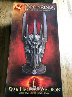 United Cutlery Lord of the Rings The War Helm of Sauron UC2941 Brand new