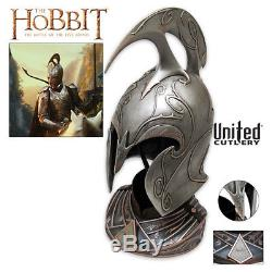 United Cutlery Rivendell Elf Helm -The Hobbit- Never displayed-Lord of the Rings