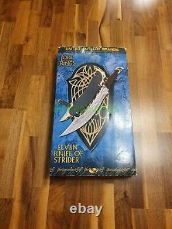 United Cutlery UC1371 Elven Knife of Strider Herr der Ringe Lord of the Rings