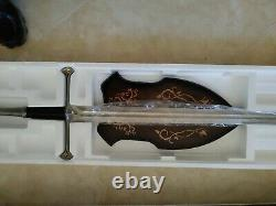 United Cutlery Uc1267 The Lord Of The Rings Narsil Elendil Sword Extremely Rare