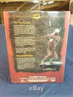 Uruk Hai Berserker Lord of the Rings Sideshow Weta Statue #1122/3000 New in Box