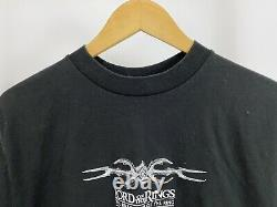 VTG The Lord Of The Rings Fellowship Of The Ring Nazgul Black Rider T-Shirt Sz M