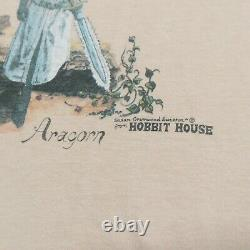 Vintage 70s Aragorn Hobbit House Shirt Single Stitch Lord of the Rings Rare
