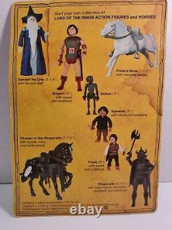 Vintage Lord of the Rings Gollum Action Figure Knickerbocker LOTR MOC