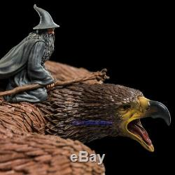 WETA Hobbit The Lord of the Rings Gandalf on Gwaihir Collection Statue Model