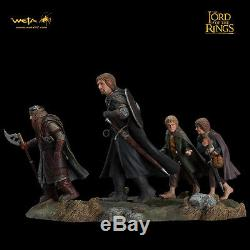 WETA Lord Of The Rings Fellowship Of The Ring Set 2 Statue Figures NEW