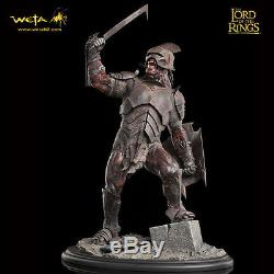 WETA Lord Of The Rings Uruk-Hai Swordsman Statue Figure SEALED NEW