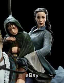 WETA Lord of the Rings Arwen and Frodo on Asfaloth Limited Edition Statue NEW