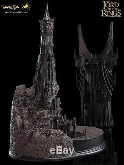WETA Lord of the Rings Barad Dur Fortress Polystone Diorama NEU OVP