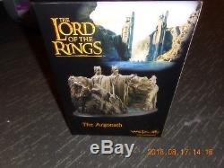 WETA The Argonath statue Lord of the Rings 266/500 Sideshow Environment LOTR