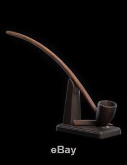 WETA The Hobbit Lord of the Rings Pipe & Staff of Gandalf prop replica set NEW