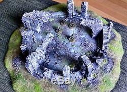 Weather Top! Lord Of The Rings Terrain For Games Workshop Miniatures
