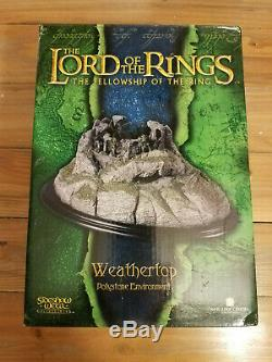 Weathertop Lord of the Rings Weta Sideshow Statue Boxed