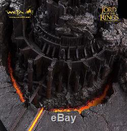 Weta BARAD DUR Sauron Fortress Lord of the Rings LotR Hobbit RARE Not Sideshow