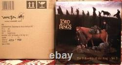 Weta Fellowship Of The Ring Set 1 + 2 + 3 Lot New Lord Of The Rings Lotr