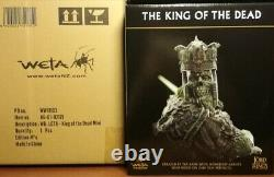 Weta Lord Of The Rings The King Of The Dead Mini Statue New Lotr Hobbit