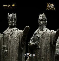 Weta Sideshow The Argonath Environment lord of the rings The hobbit LOTR TROLL
