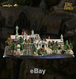 Weta The Lord of the Rings Elf City Rivendell Statue Scene Limited Version Model