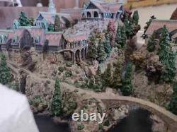 Weta The Lord of the Rings Hobbit RIVENDELL Environment Diorama Statue SOLD OUT