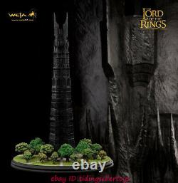 Weta The Lord of the Rings Orthanc Statue Figure Isengard Statue Polystone New